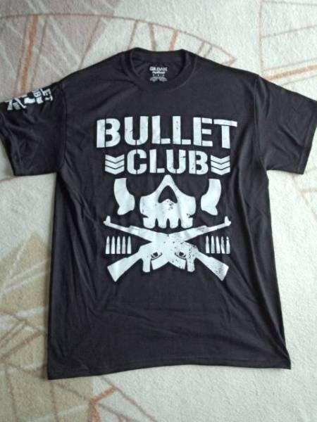 廃盤 アメリカ直輸入 新品 バレットクラブ Tシャツ 新日本プロレス BULLET CLUB Mサイズ L ケニーオメガ WWE WCW ロスインゴベルナブレス グッズの画像