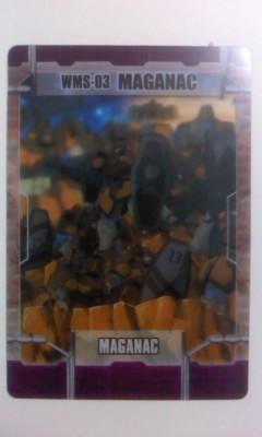 森永 ガンダム カード 6ー06ー096 マグアナック W_画像1