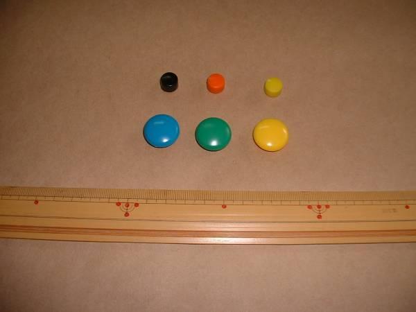 バスケットボール作戦ボード(作戦板・作戦版・作戦盤)鉄板 A4_別売品(1個10円・20円)