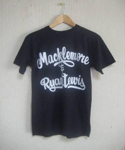 マックルモア&ライアンルイス 2013 ワールドツアーTシャツ 黒