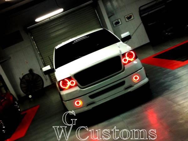 フォード F150 LEDエンジェルライトキットイカリング SMD CCFL ヘッドライトリング 高品質 米国製 エアロ_画像1
