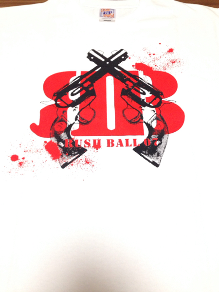 RUSH BALL07Tシャツ新品M銀杏BOYZ峯田和伸Dragon Ash髭(HiGE) ライブグッズの画像