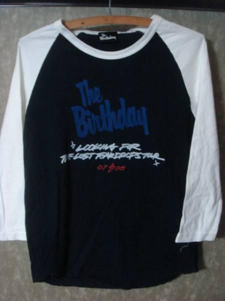 1506ザ バースディTHE BIRTHDAY7分ラグラン ベースボールTシャツ3/4チバユウスケ