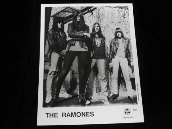 即決 ★ 希少 ★ The Ramones ラモーンズ ★ オリジナル・プレス写真 ★★