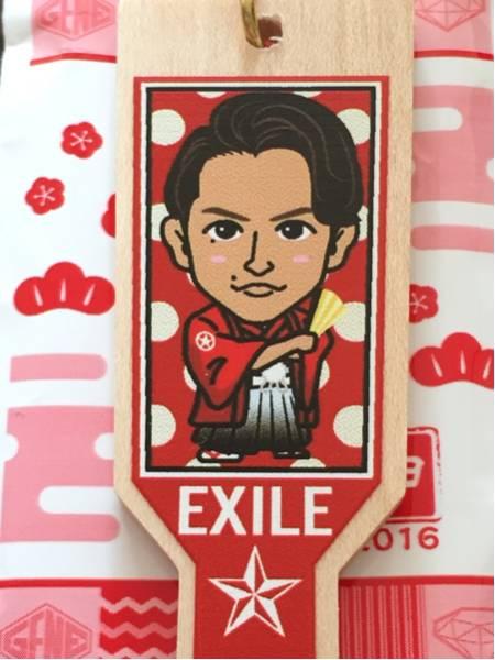 EXILE TETSUYA 羽子板ストラップ2016 トラステ