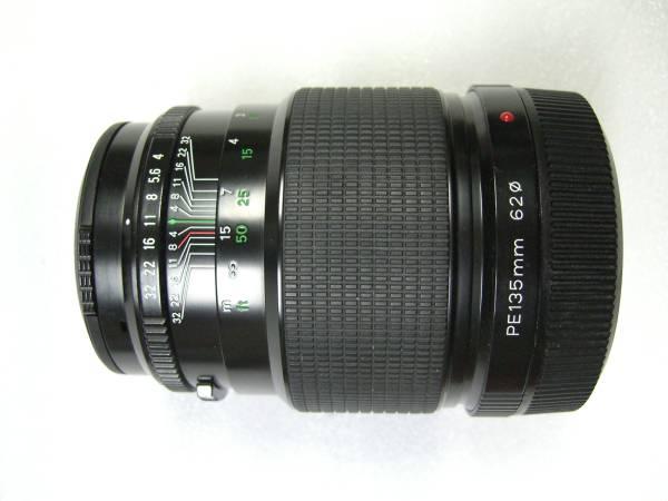 美品 ブロニカETRレンズPE 135mm F4.0_画像2