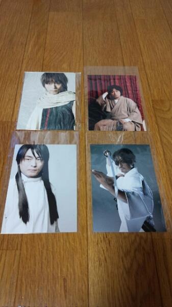関智一 生写真4枚セット DVD購入特典