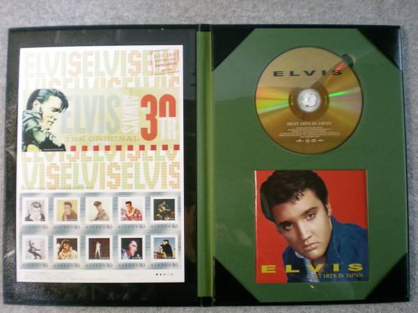 エルビス没後30周年特別企画品 「フレーム切手+ゴールドCD」 新品