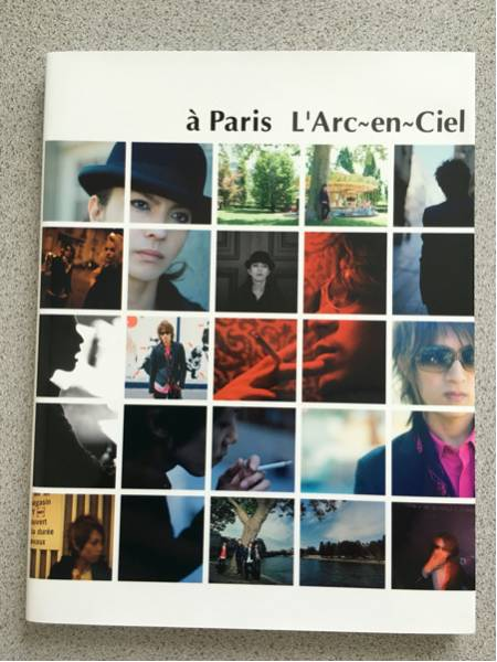 a Paris写真集/L'ArcラルクパンフhydeVAMPSツアーライブグッズ