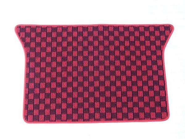 ヴィヴィオ/ビストロ トランクマット カーペット 赤 新品 スバル 3ドア 5ドア セダン KK3/KK4 SUBARU VIVIO_日本製ですので、縫製もしっかりしています