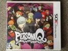3DS ソフト ペルソナQ ベースは 世界樹の迷宮 おまけ有り 新品