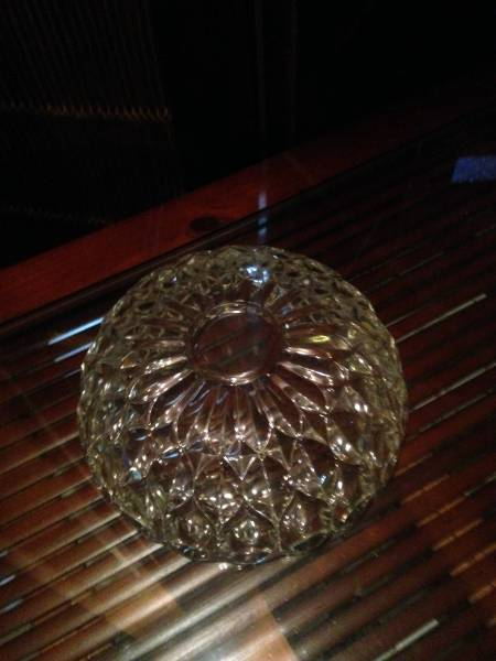 ガラスボールサラダボールクリスタル食器硝子皿デザートソーサー_画像3