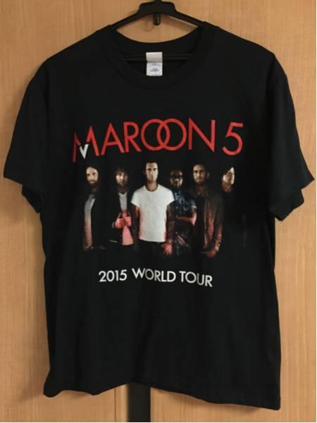 美品 MAROON 5 Tシャツ サイズS 2015 WORLD TOUR 横浜アリーナ