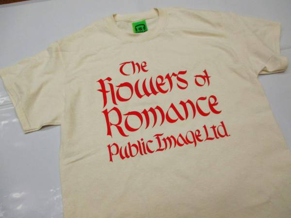 【Flowers of Romance】Public Image Limited Tシャツ(送料無料)