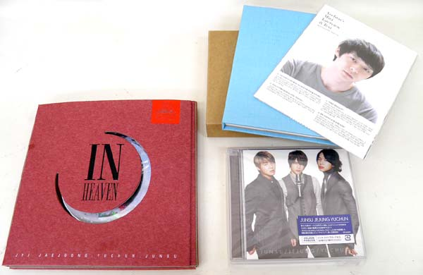 JYJ 3hreeVoicesⅡ & InHeaven & The... 3種セット!! カード付き