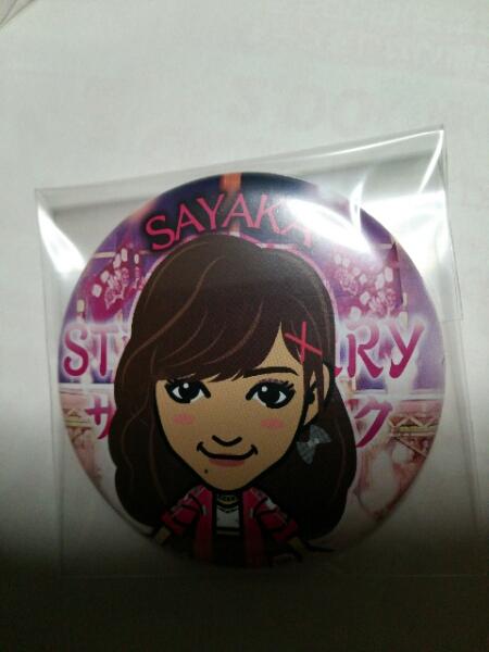 E-girls SAYAKA 缶バッジ STRAWBERRY サディスティック 2016 ライブグッズの画像