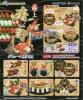 リーメント ぷちサンプル 極上寿司/寿司桶,舟盛り,海鮮丼…全6種