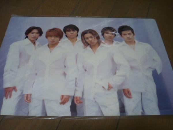 ★V6★下敷き★2001 コンサートグッズの画像