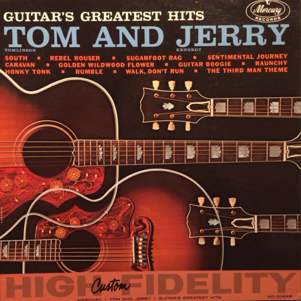 US Orig TOM AND JERRY LP GUITAR'S GREATEST HITS ロカビリー_画像1