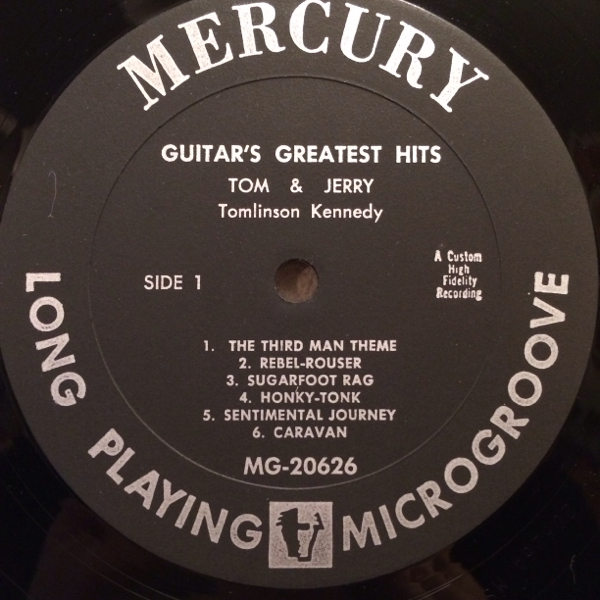 US Orig TOM AND JERRY LP GUITAR'S GREATEST HITS ロカビリー_画像3
