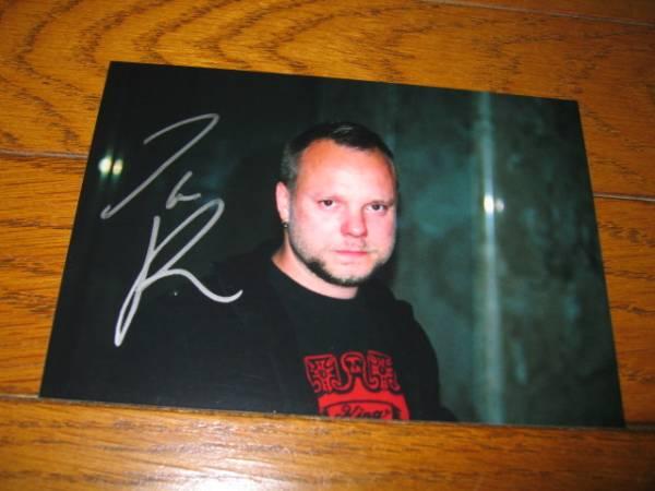 ●JAN RECHBERGER/ヤン・レックベルガー●AMORPHIS/アモルフィス●直筆サイン