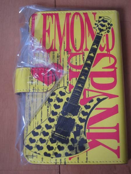 LEMONed hide iPhone6 6s 手帳型カバー イエローハートギター レモネード スマホケース