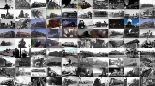 世界電車蒸気機関車列車寝台車鉄道写真画像素材集2400枚著作権無英語素材屋メーカー素材集アイコンアンティークイラストイラレphotoshop_画像1