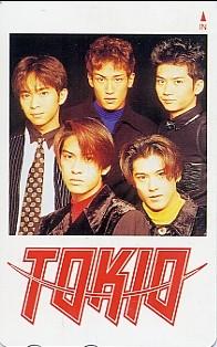 ■TOKIOのテレカ(2)■ コンサートグッズの画像