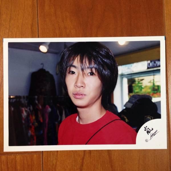 即決¥1500★嵐 公式写真 2053★相葉雅紀 初期 ハワイ 嵐ロゴ