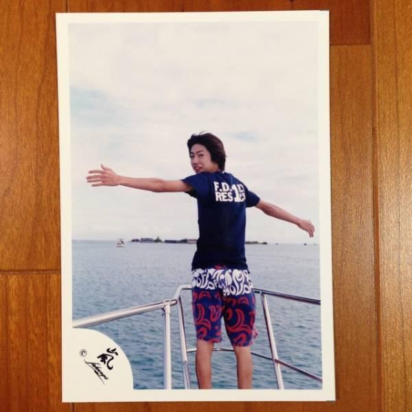 即決¥1500★嵐 公式写真 2060★相葉雅紀 初期 ハワイ 嵐ロゴ