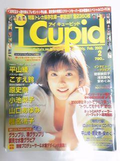 2000 2 アイキューピッド 平山綾 安めぐみ 椎名法子 グッズの画像