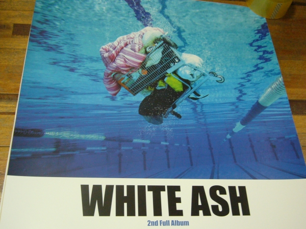 貴重B2大 ポスター WHITE ASH Ciao, Fake Kings