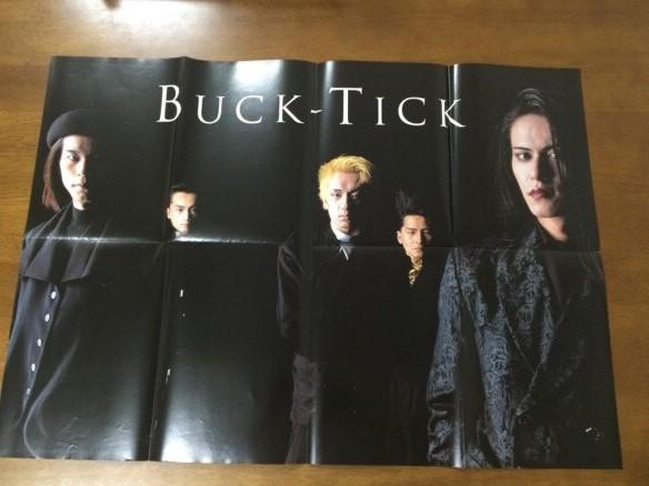 M3/雑誌付録ポスター BUCK-TICK氷室京介1991パチパチROCK'N'ROLL