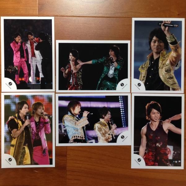 即決¥3000★嵐 公式写真 1485★櫻井翔 カウコン 貴重 Jロゴ 6枚セット