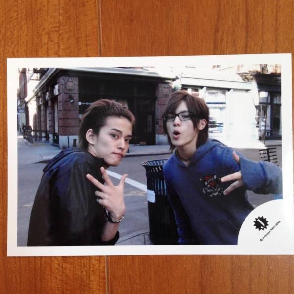 即¥1500★NYC 公式写真1924★山田涼介 中山優馬 Jロゴ