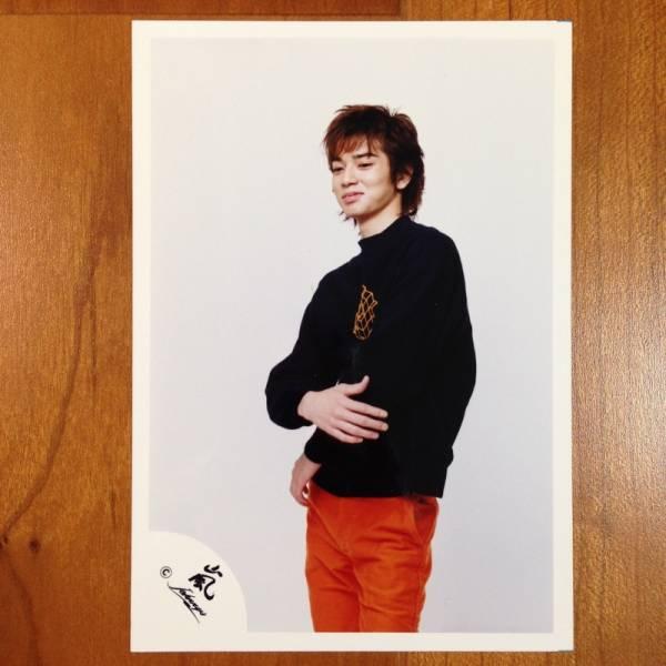 即決¥1000★嵐 公式写真2096★松本潤 初期 貴重 嵐ロゴ