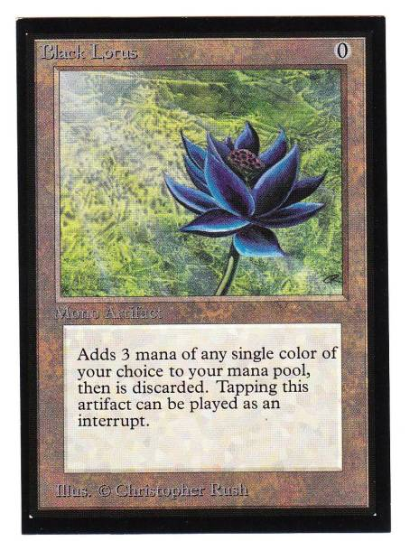 ●即決● IE Black Lotus(金枠、英語)