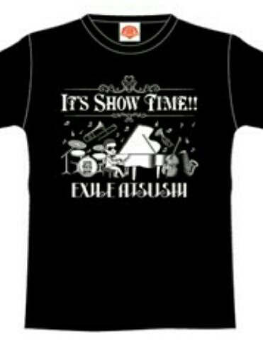 新品☆EXILE ATSUSHI IT'S SHOW TIME BIG BAND Tシャツ S