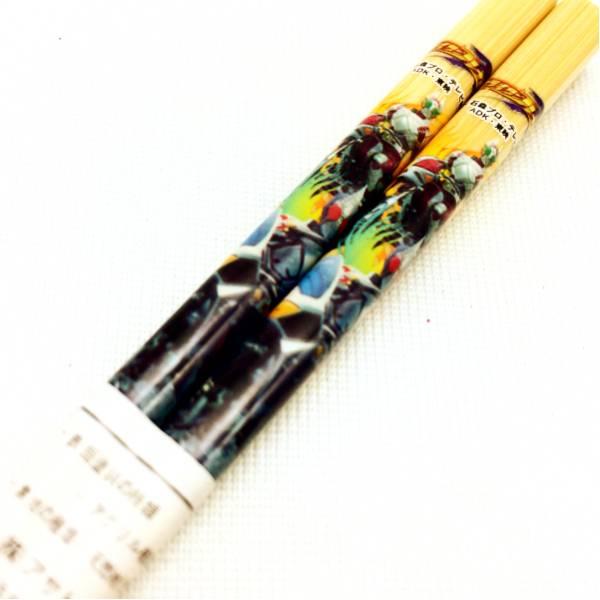 新品 日本製 子供用 木製 箸 はし 仮面ライダー ブレイド 16.5cm_画像2