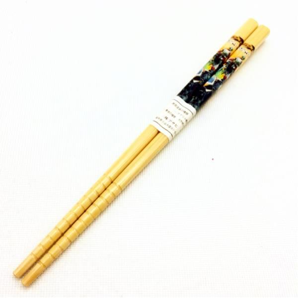 新品 日本製 子供用 木製 箸 はし 仮面ライダー ブレイド 16.5cm_画像1