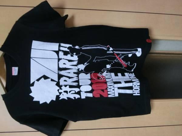 マキシマムザホルモンMAXIUM THE HORMONE廃盤バンドTシャツ(バンT/ライブT/ロックT)2012年限定オヤジ狩られTシャツ色ブラックsizeS中古品 ライブグッズの画像