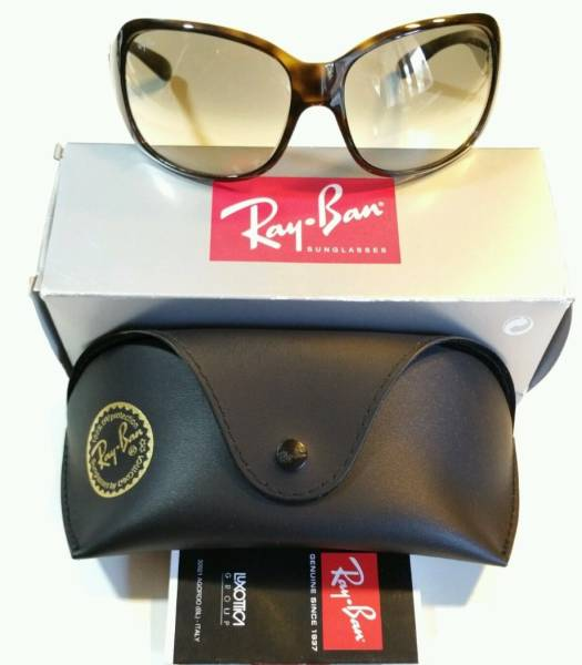 3970cdd26e755 free shipping  USED Ray-Ban  RayBan sunglasses  RB4118 710 51 2N Made In  Italy  Italy made