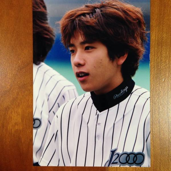 即決¥2000★嵐 公式写真 1612★二宮和也 ファミクラ 野球大会 貴重