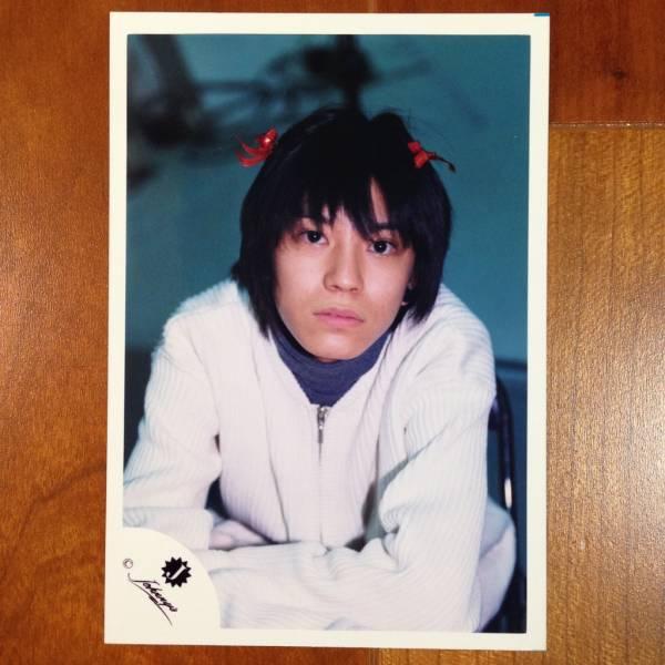 即決¥1000★関ジャニ∞ 公式写真1618★渋谷すばる Jr.時代 貴重 Jロゴ