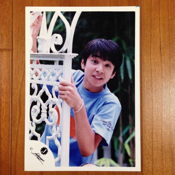 即決¥1500★公式写真 1713★生田斗真 Jr.時代 初期 幼い 貴重 Jロゴ