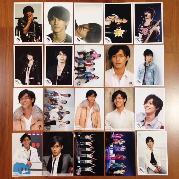 即決¥1000★関ジャニ∞ 公式写真 1863★錦戸亮 NEWSロゴ 20枚セット