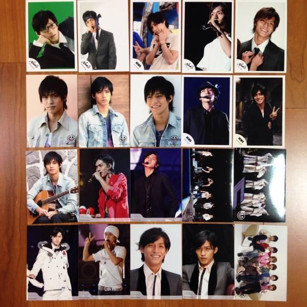 即決¥1000★関ジャニ∞ 公式写真 1865★錦戸亮 NEWSロゴ20枚セット
