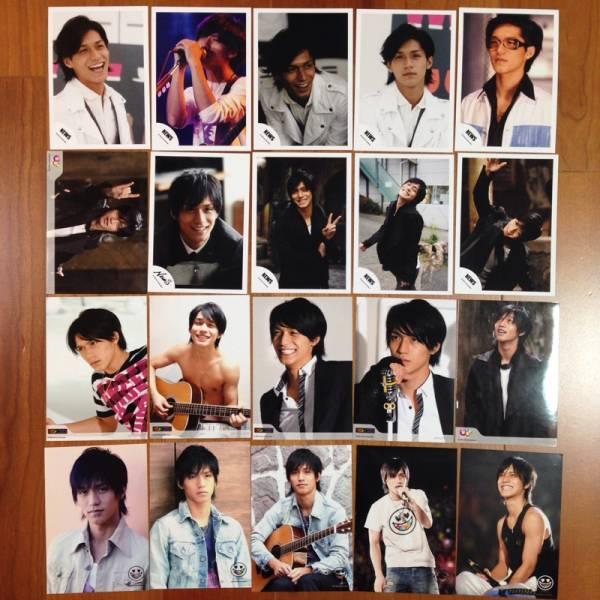 即決¥1000★関ジャニ∞ 公式写真 1869★錦戸亮 NEWSロゴ20枚セット