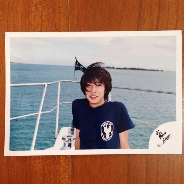 即決¥2000★嵐 公式写真 1900★相葉雅紀 ハワイ 初期 嵐ロゴ