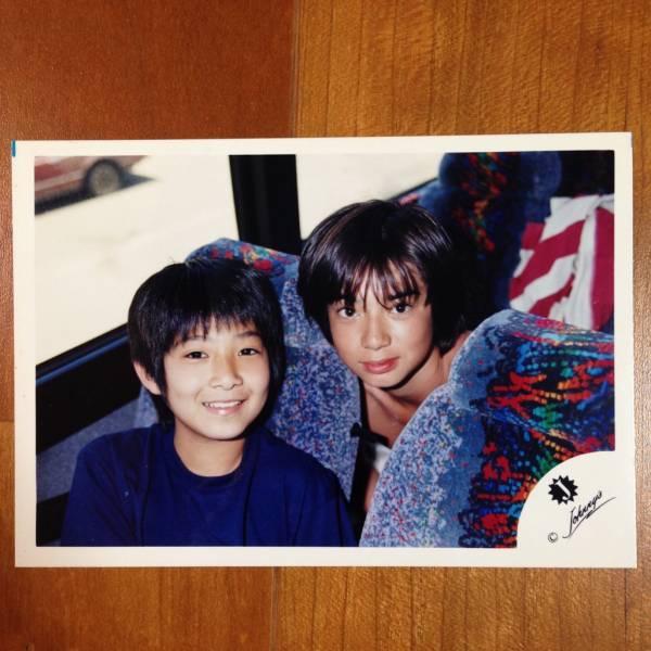即決¥2000★嵐 公式写真 1943★松本潤 幼い Jr.時代 Jロゴ